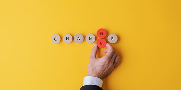 「変わる」ための5つのステップ…